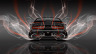 Dodge-Challenger-Muscle-Back-Smoke-Car-2014-Orange-Neon-4K-Wallpapers-design-by-Tony-Kokhan-[www.el-tony.com]