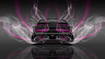 Dodge-Challenger-Muscle-Back-Smoke-Car-2014-Pink-Neon-4K-Wallpapers-design-by-Tony-Kokhan-[www.el-tony.com]