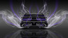 Dodge-Challenger-Muscle-Back-Smoke-Car-2014-Violet-Neon-4K-Wallpapers-design-by-Tony-Kokhan-[www.el-tony.com]