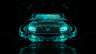 Dodge-Charger-RT-Muscle-Front-Azure-Fire-Abstract-Car-2014-Art-HD-Wallpapers-design-by-Tony-Kokhan-[www.el-tony.com]