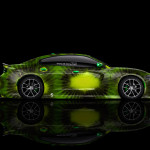 4K Dodge Charger RT Muscle Side Kiwi Aerography Car 2014