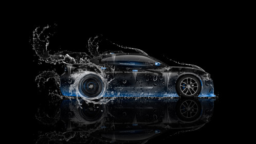 Dodge-Charger-RT-Muscle-Side-Water-Car-2014-Blue-Neon-HD-Wallpapers-design-by-Tony-Kokhan-[www.el-tony.com]