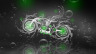 Fantasy-Moto-Chopper-Side-Underwater-Bike-2014-Green-Neon-HD-Wallpapers-design-by-Tony-Kokhan-[www.el-tony.com]