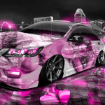 Honda Accord JDM Tuning Anime Aerography City Car 2014