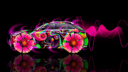 Infiniti-FX-Side-Fantasy-Flowers-Abstract-Aerography-Car-2014-Multicolors-HD-Wallpapers-design-by-Tony-Kokhan-[www.el-tony.com]