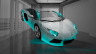 Lamborghini-Aventador-Fantasy-Crystal-Home-Fly-Car-2014-Azure-Neon-HD-Wallpapers-design-by-Tony-Kokhan-[www.el-tony.com]