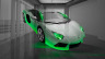Lamborghini-Aventador-Fantasy-Crystal-Home-Fly-Car-2014-Green-Neon-HD-Wallpapers-design-by-Tony-Kokhan-[www.el-tony.com]