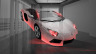 Lamborghini-Aventador-Fantasy-Crystal-Home-Fly-Car-2014-Orange-Neon-HD-Wallpapers-design-by-Tony-Kokhan-[www.el-tony.com]