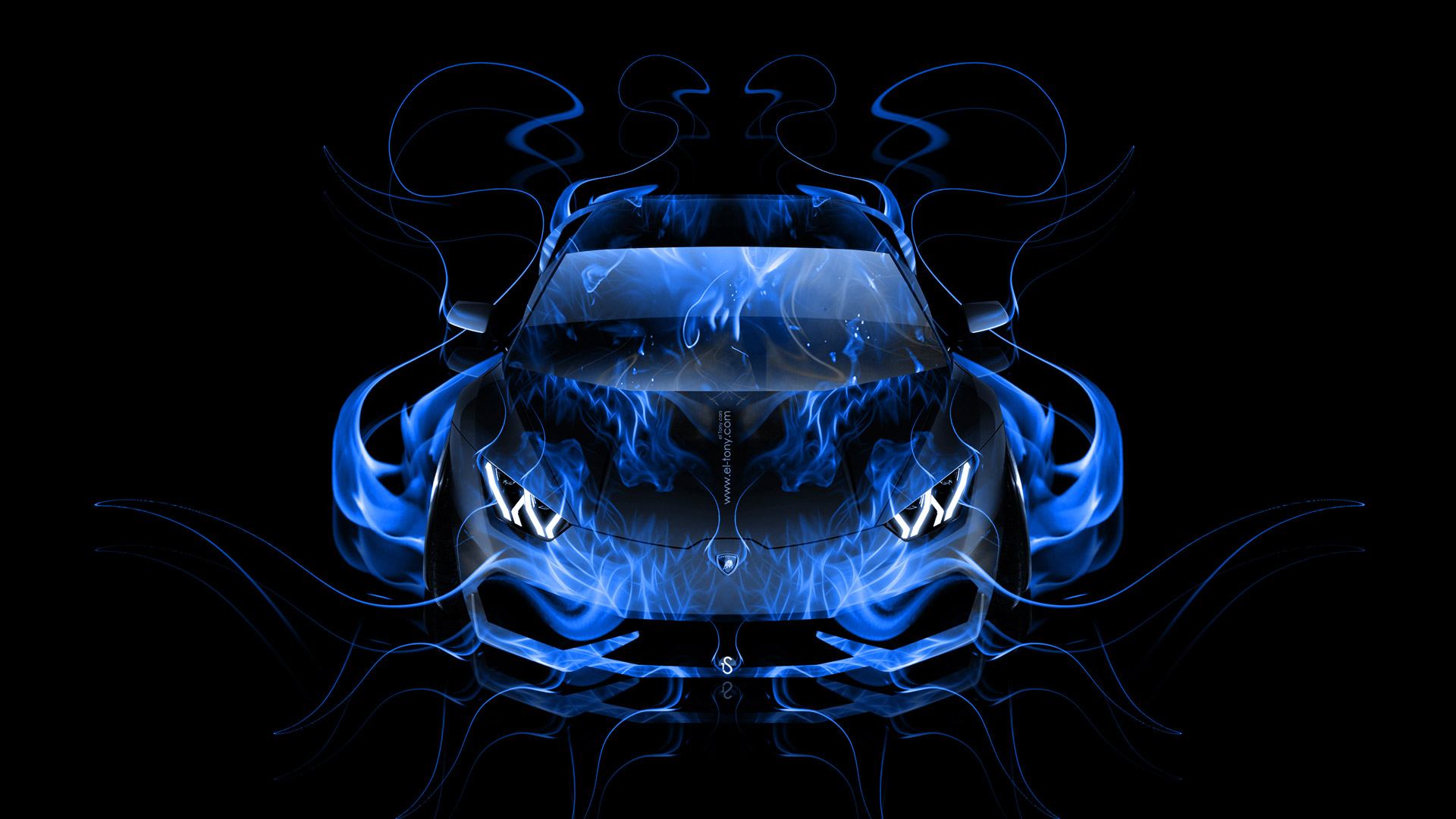 blue neon hd by mandeep