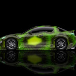 4K Mazda RX8 JDM Side Kiwi Aerography Car 2014