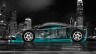 McLaren-F1-Side-Crystal-City-Car-2014-Azure-Neon-4K-Wallpapers-design-by-Tony-Kokhan-[www.el-tony.com]