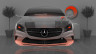 Mercedes-Benz-Coupe-Front-Fantasy-Crystal-Home-Fly-Car-2014-Orange-Neon-HD-Wallpapers-design-by-Tony-Kokhan-[www.el-tony.com]