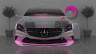 Mercedes-Benz-Coupe-Front-Fantasy-Crystal-Home-Fly-Car-2014-Pink-Neon-HD-Wallpapers-design-by-Tony-Kokhan-[www.el-tony.com]