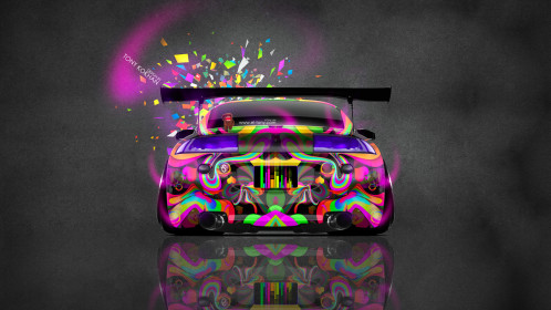 Mitsubishi-Eclipse-JDM-Tuning-Back-Domo-Kun-Toy-Car-2014-Multicolors-HD-Wallpapers-design-by-Tony-Kokhan-[www.el-tony.com]
