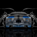 Mitsubishi Eclipse JDM Tuning Back Water Car 2014
