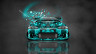 Mitsubishi-Eclipse-JDM-Tuning-Front-Domo-Kun-Toy-Car-2014-Azure-Colors-HD-Wallpapers-design-by-Tony-Kokhan-[www.el-tony.com]