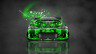 Mitsubishi-Eclipse-JDM-Tuning-Front-Domo-Kun-Toy-Car-2014-Green-Colors-HD-Wallpapers-design-by-Tony-Kokhan-[www.el-tony.com]