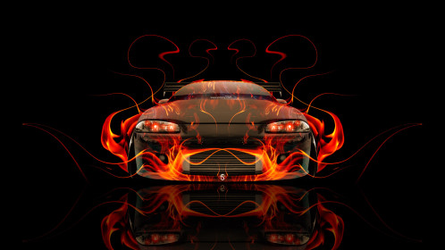 Mitsubishi-Eclipse-JDM-Tuning-Front-Fire-Abstract-Car-2014-HD-Wallpapers-design-by-Tony-Kokhan-[www.el-tony.com]