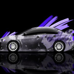 4K Mitsubishi Lancer Evolution X JDM Side Anime Car 2014