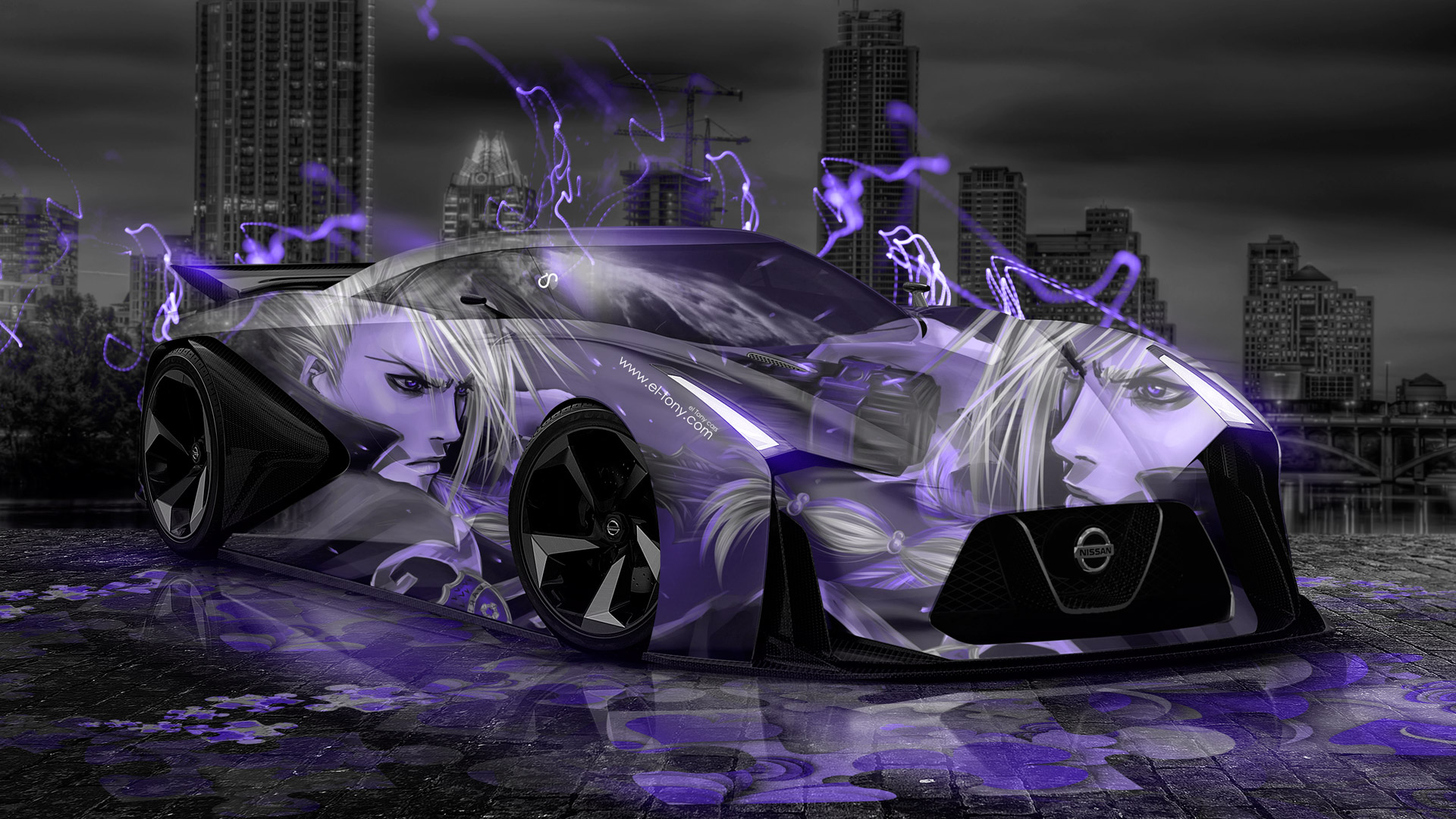 Nissan Gtr 2020 Concept Anime Aerography City Car 2014