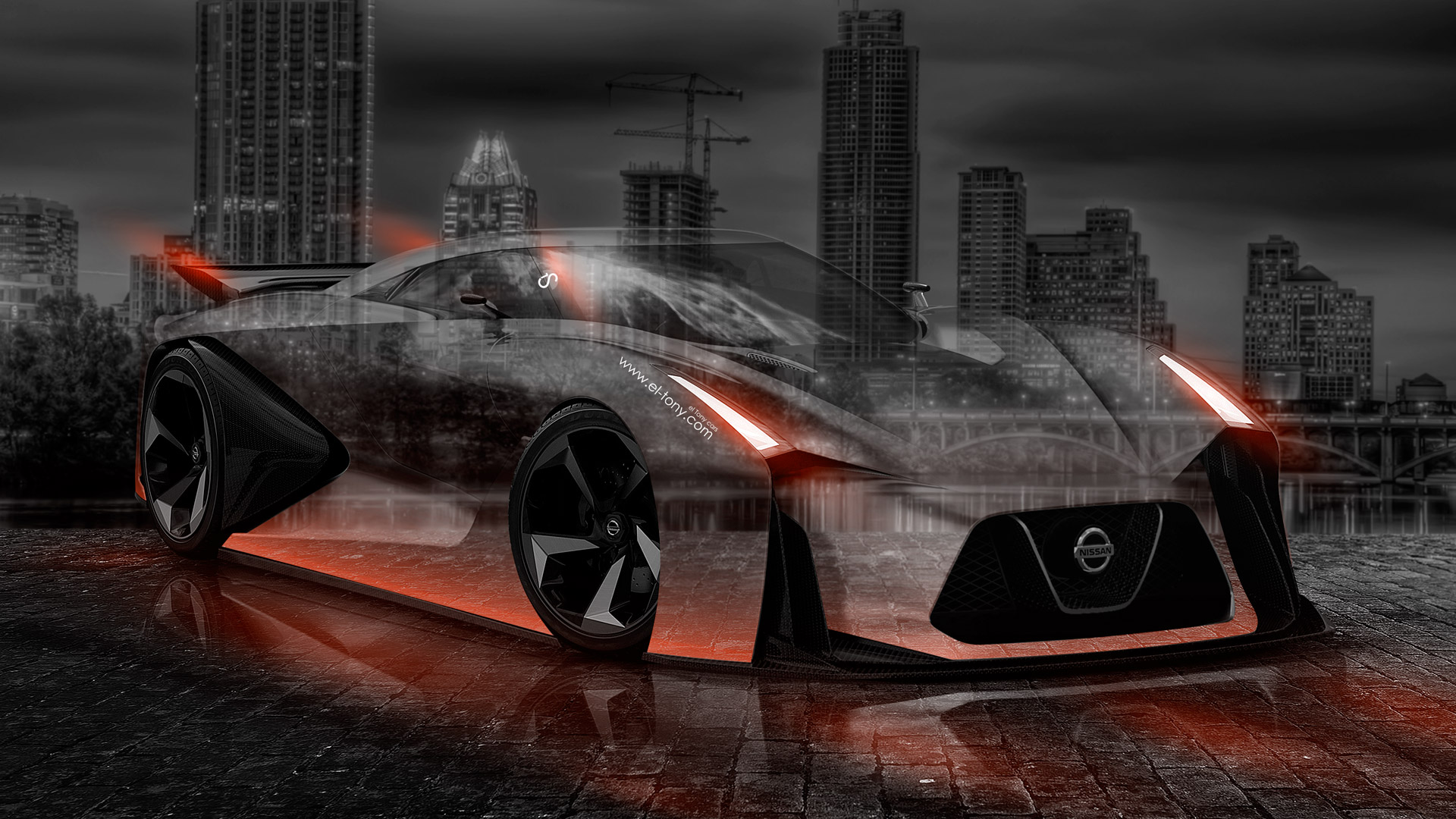 Attractive Exceptionnel Nissan GTR 2020 Concept Crystal City Car 2014 .