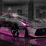 Nissan GTR 2020 Concept Crystal City Car 2014