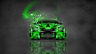 Nissan-GTR-R35-JDM-Tuning-Front-Domo-Kun-Toy-Car-2014-Green-Colors-HD-Wallpapers-design-by-Tony-Kokhan-[www.el-tony.com]