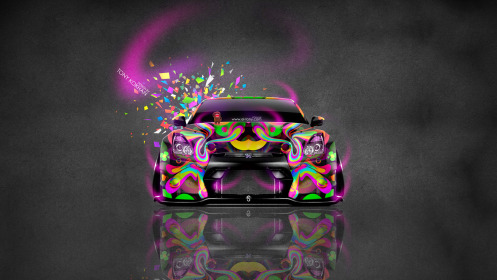 Nissan-GTR-R35-JDM-Tuning-Front-Domo-Kun-Toy-Car-2014-Multicolors-HD-Wallpapers-design-by-Tony-Kokhan-[www.el-tony.com]
