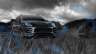 Porsche-Macan-Crossover-Crystal-Nature-Car-2014-Art-Photoshop-Blue-Neon-HD-Wallpapers-design-by-Tony-Kokhan-[www.el-tony.com]