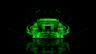 Toyota-Aristo-JDM-Tuning-Back-Green-Fire-Abstract-Car-2014-Art-HD-Wallpapers-design-by-Tony-Kokhan-[www.el-tony.com]