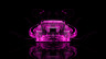 Toyota-Aristo-JDM-Tuning-Back-Pink-Fire-Abstract-Car-2014-Art-HD-Wallpapers-design-by-Tony-Kokhan-[www.el-tony.com]