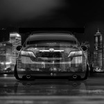4K Toyota Camry JDM Tuning Back Crystal City Car 2014