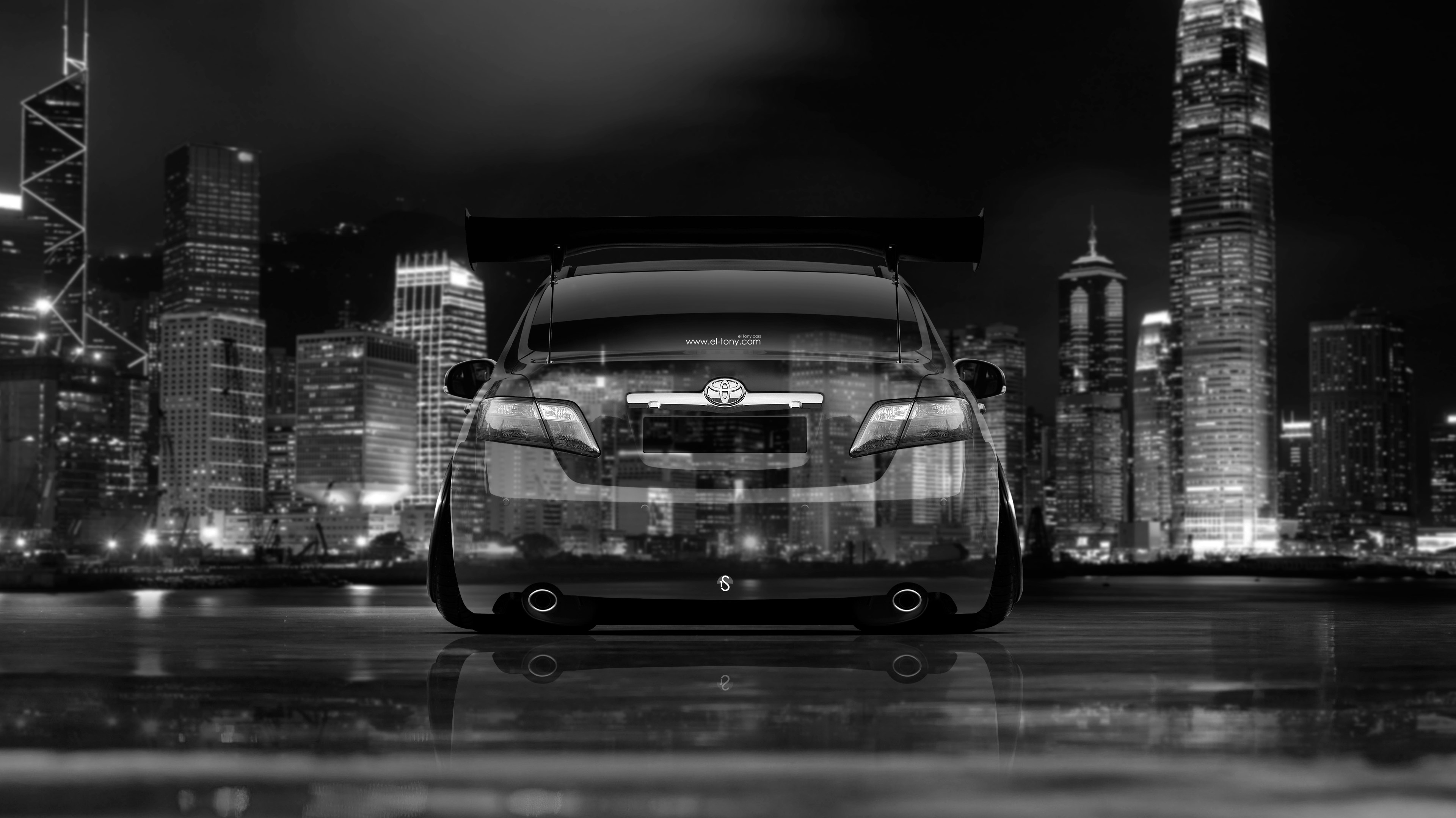 Toyota Camry JDM Tuning Back Crystal City Car