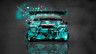 Toyota-Camry-JDM-Tuning-Back-Domo-Kun-Toy-Car-2014-Azure-Colors-HD-Wallpapers-design-by-Tony-Kokhan-[www.el-tony.com]