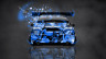 Toyota-Camry-JDM-Tuning-Back-Domo-Kun-Toy-Car-2014-Blue-Colors-HD-Wallpapers-design-by-Tony-Kokhan-[www.el-tony.com]