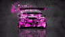 Toyota-Camry-JDM-Tuning-Back-Domo-Kun-Toy-Car-2014-Pink-Colors-HD-Wallpapers-design-by-Tony-Kokhan-[www.el-tony.com]