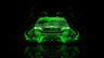 Toyota-Camry-JDM-Tuning-Back-Green-Fire-Abstract-Car-2014-Art-HD-Wallpapers-design-by-Tony-Kokhan-[www.el-tony.com]