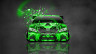 Toyota-Camry-JDM-Tuning-Front-Domo-Kun-Toy-Car-2014-Green-Colors-HD-Wallpapers-design-by-Tony-Kokhan-[www.el-tony.com]