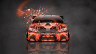 Toyota-Camry-JDM-Tuning-Front-Domo-Kun-Toy-Car-2014-Orange-Colors-HD-Wallpapers-design-by-Tony-Kokhan-[www.el-tony.com]