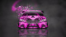 Toyota-Camry-JDM-Tuning-Front-Domo-Kun-Toy-Car-2014-Pink-Colors-HD-Wallpapers-design-by-Tony-Kokhan-[www.el-tony.com]