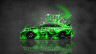 Toyota-Camry-JDM-Tuning-Side-Domo-Kun-Toy-Car-2014-Green-Colors-HD-Wallpapers-design-by-Tony-Kokhan-[www.el-tony.com]