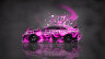 Toyota-Camry-JDM-Tuning-Side-Domo-Kun-Toy-Car-2014-Pink-Colors-HD-Wallpapers-design-by-Tony-Kokhan-[www.el-tony.com]