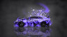 Toyota-Camry-JDM-Tuning-Side-Domo-Kun-Toy-Car-2014-Violet-Colors-HD-Wallpapers-design-by-Tony-Kokhan-[www.el-tony.com]