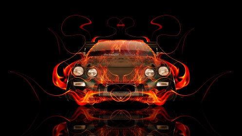 Toyota-Celica-JDM-Tuning-Front-Fire-Abstract-Car-2014-Photoshop-Art-HD-Wallpapers-design-by-Tony-Kokhan-[www.el-tony.com]