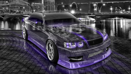 Toyota-Chaser-JZX100-JDM-Tuning-Crystal-City-Car-2014-Violet-Neon-HD-Wallpapers-design-by-Tony-Kokhan-[www.el-tony.com]