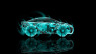 Toyota-FCV-Tuning-Side-Fantasy-Flowers-Car-2014-Abstract-Azure-Colors-HD-Wallpapers-design-by-Tony-Kokhan-[www.el-tony.com]