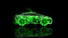 Toyota-FCV-Tuning-Side-Fantasy-Flowers-Car-2014-Abstract-Green-Colors-HD-Wallpapers-design-by-Tony-Kokhan-[www.el-tony.com]