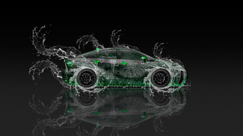 Toyota-FCV-Tuning-Side-Super-Water-Car-2014-Green-Colors-HD-Wallpapers-design-by-Tony-Kokhan-[www.el-tony.com]