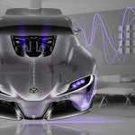 Toyota FT-1 FrontUp Fantasy Crystal Home Fly Car 2014