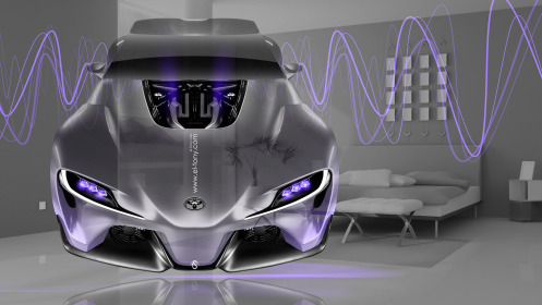 Toyota-FT-1-FrontUp-Fantasy-Crystal-Home-Fly-Car-2014-Violet-Neon-Effects-HD-Wallpapers-design-by-Tony-Kokhan-[www.el-tony.com]